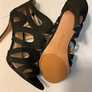 Nine West heel sandals size 9M